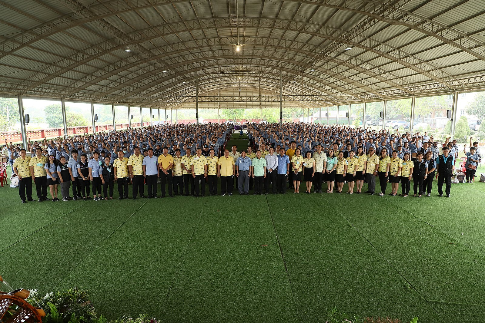 อบจ.อ่างทอง จัดโครงการพัฒนาศักยภาพอาสาสมัครสาธารณสุขประจำหมู่บ้าน(อสม.) วันที่ 19 มีนาคม 2546