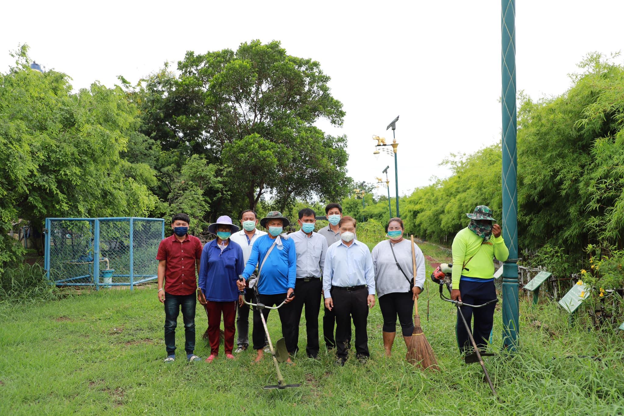 อบจ.อ่างทอง จัดเตรียมสถานที่จัดทำ โครงการอนุรักษ์พันธุกรรมพืช อันเนื่องมาจากพระราชดำริ สมเด็จพระเทพรัตนราชสุดาฯ สยามบรมราชกุมารี
